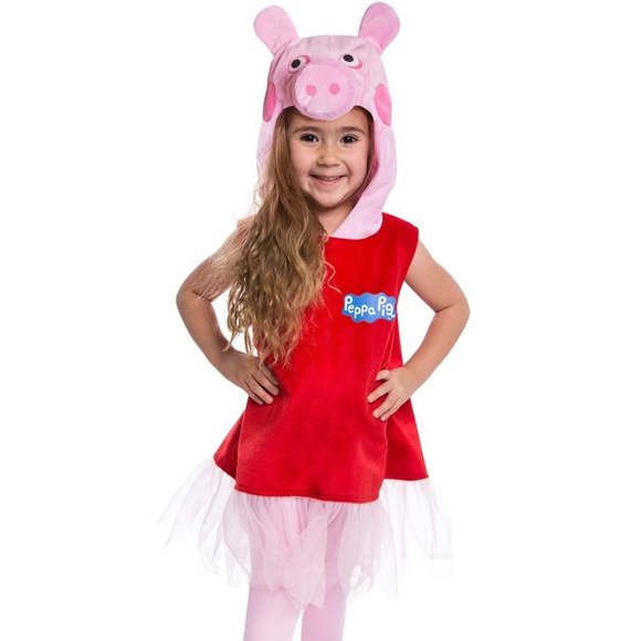 peppa pig ballerina halloween costume girl dress